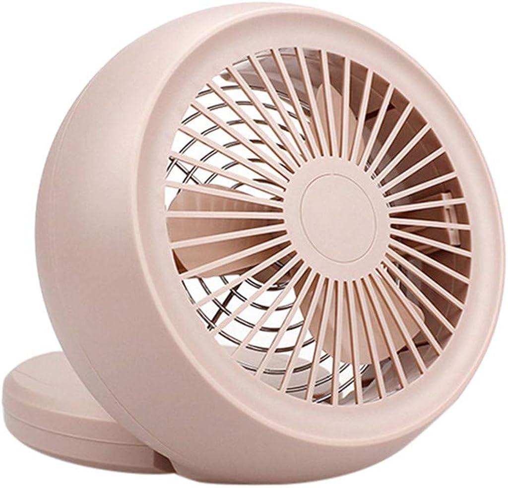 JiaMeng Mini Ventilador Silencioso Pequeño y Potente Ventilador ...