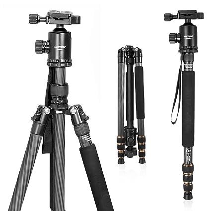 Zomei portátil cámara magnesio Aluminio trípode Monopod trípode con rótula Bolsillo