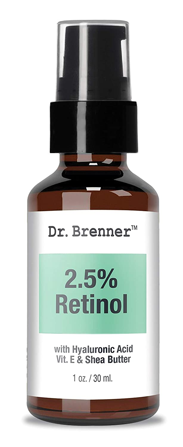Retinol Cream Moisturizer for Face and Eyes with Retinol, Hyaluronic Acid, Vitamin E and Shea Butter Anti-Aging, Anti Wrinkle and Natural 1 oz.