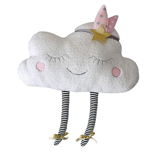 Moonvvin Cloud Almohada de Felpa Suave Kawaii Nube de ...