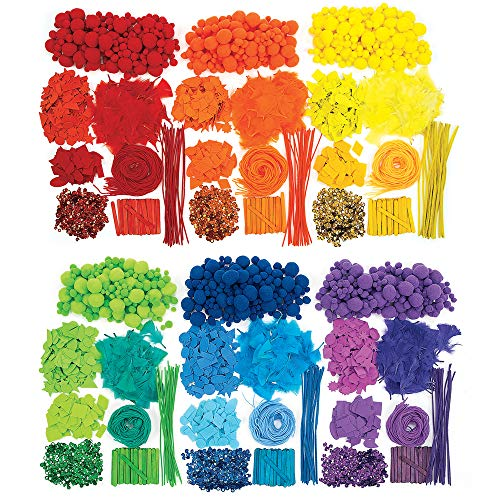 Colorations Colorful Collage Kit (Item # COLORKIT)