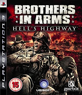 Kết quả hình ảnh cho Brothers In Arms Hells Highway cover ps3