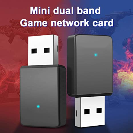 Kathariiy Adaptador WiFi USB, Doble Banda 5G Tarjeta de Red ...