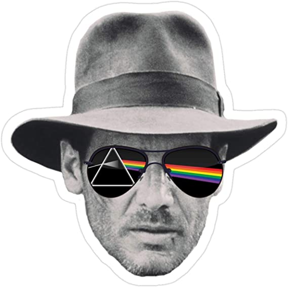Stickers Dark Side of Indiana Jones (3 Pcs/Pack) 3x4 Inch Car Decals: Amazon.es: Bricolaje y herramientas
