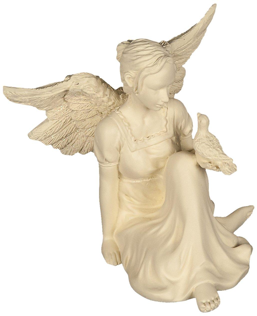 AngelStar Slice of Heaven Angel Figurine, 3-1/2-Inch 8260