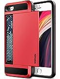 Vofolen for iPhone SE 2020 Case SE2 Wallet Credit Card Holder ID Slot Sliding Hidden Pocket Anti-Scratch Dual Layer…