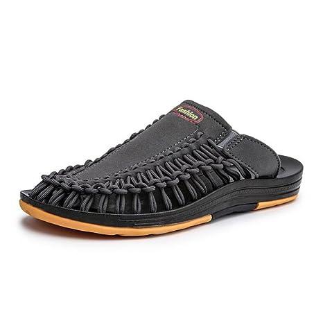 Hombre Zapatillas 2018 Nuevo Verano Zapatillas Respirables/Zapatos de Playa/Sandalias para Hombres/