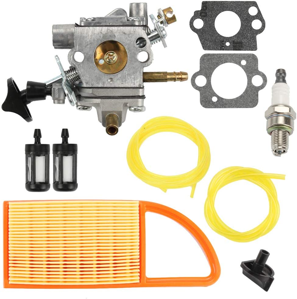 Venseri BR600 Carburetor with Air Filter Fuel Line Kit Fit Stihl Stihl BR550 BR500 Backpack Blower C1Q-S183 Carb 4282-120-0606 4282-120-0607 4282-120-0608