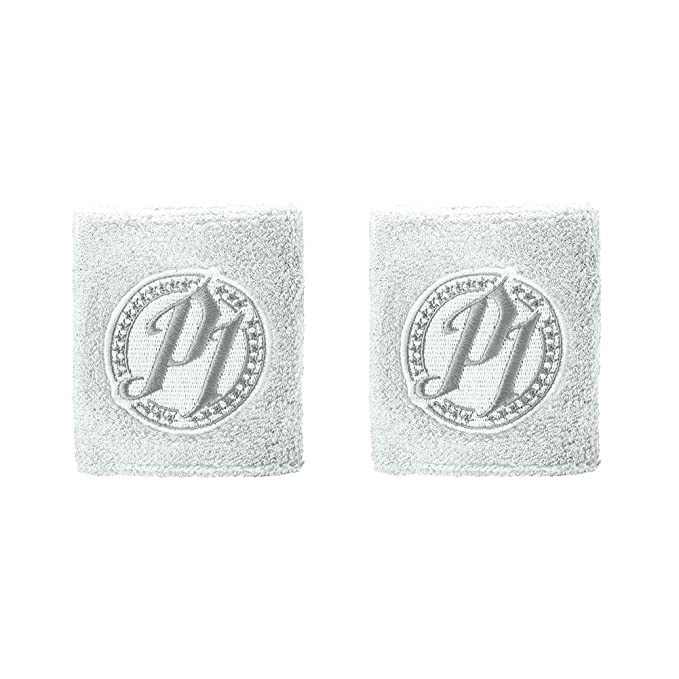 Aj Styles Wwe Authentic P1 Grey Logo Wristbands Set Of 2 New Amazon