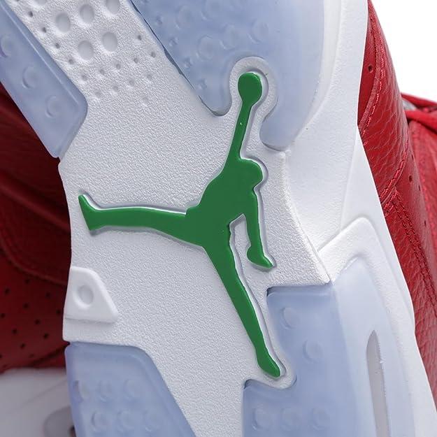 meet 51e0e 96342 Amazon.com  Nike Men s Air Jordan VI 6 Retro Spiz ike Varsity Red Classic  Green-Black-White 694091-625 Shoe 10.5 M US Men  Shoes