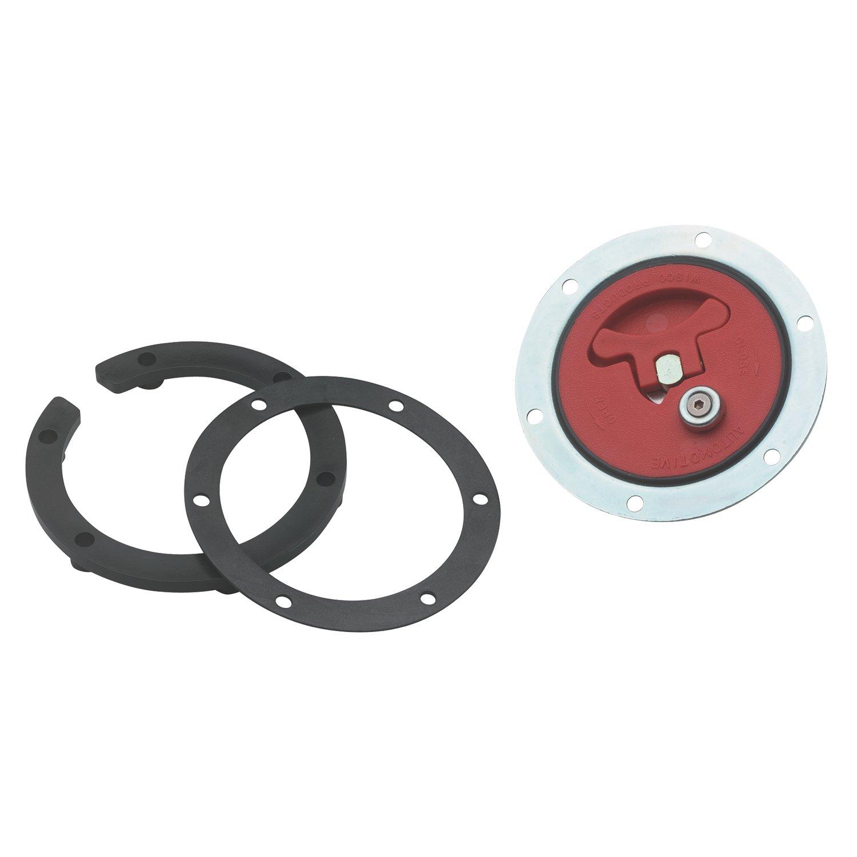 Jaz Products 350-201-06 6-Bolt Flush Mount Fuel Cell Cap Assembly Jaz Produtcs