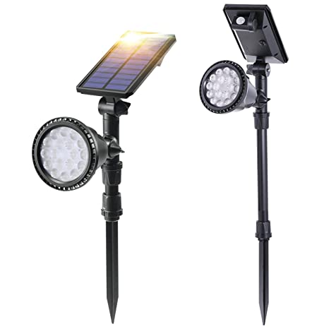 Stupendous Amazon Com Baxia Technology Solar Spot Lights Outdoor Upgraded Wiring Cloud Rectuggs Outletorg