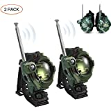 leegoal Walkie Talkies for Kids, 2 PCS Two-Way Radio 150 Meters Long Range Mini Watch Walkie Talkies with Flashlight for 3-12 Year Old Boys and Girls, Best Gifts for Birthday, Christmas