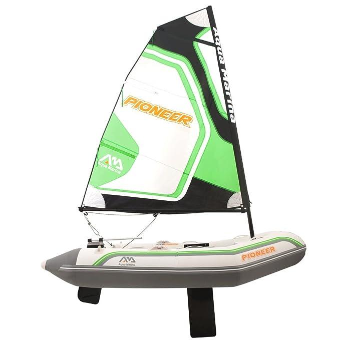 Velero hinchable ligero para 2 personas - transportable en el maletero del coche: Amazon.es: Deportes y aire libre