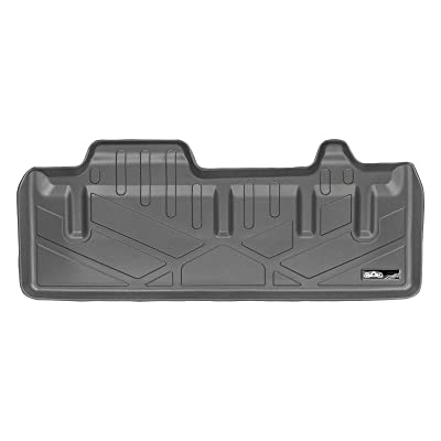 SMARTLINER Cargo Trunk Liner Floor Mat Behind 3rd Row Grey for 2011-2020 Toyota Sienna with Power Folding 3rd Row Seats: Automotive