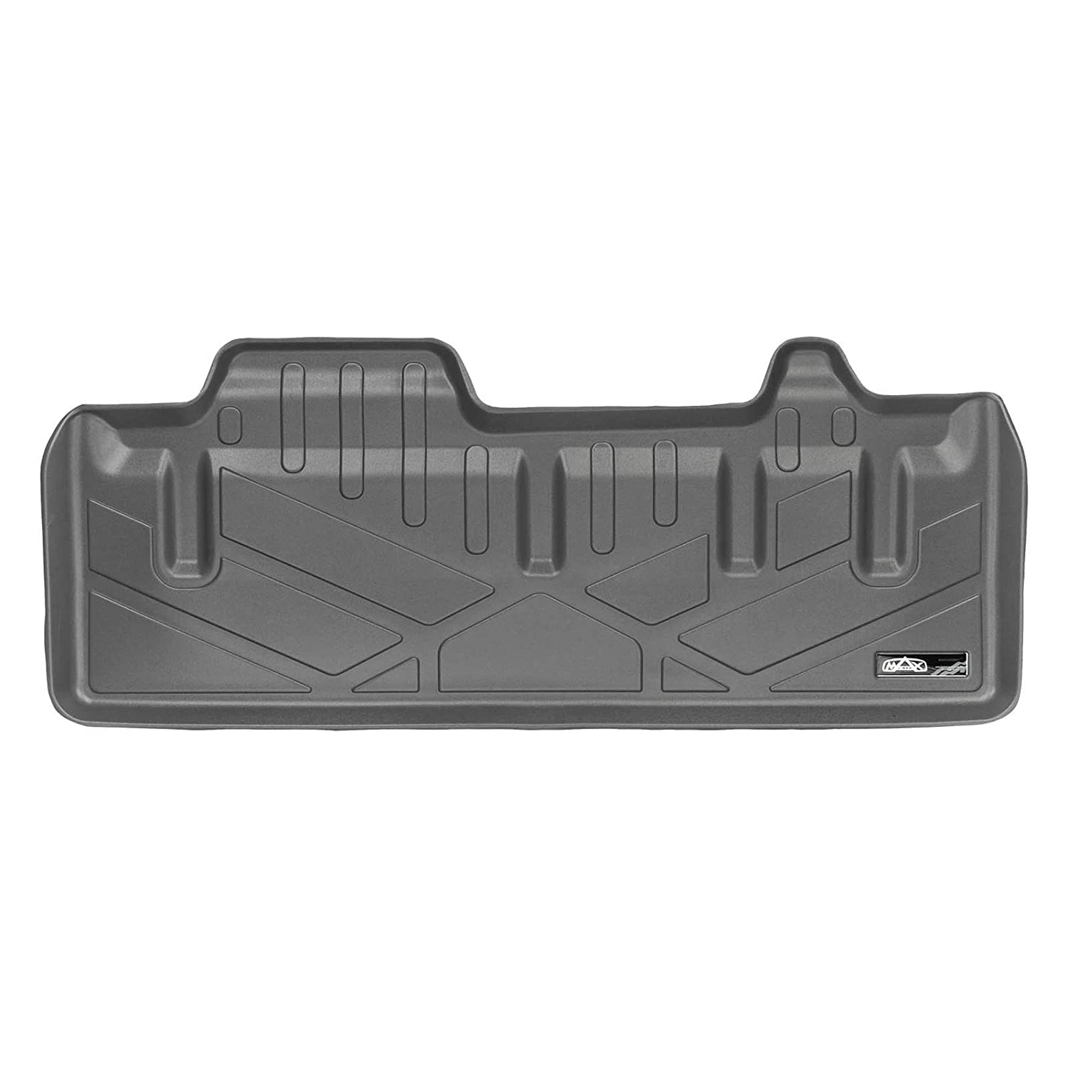 SMARTLINER Cargo Trunk Liner Floor Mat Behind 3rd Row Grey for 2011-2019 Toyota Sienna with Power Folding 3rd Row Seats