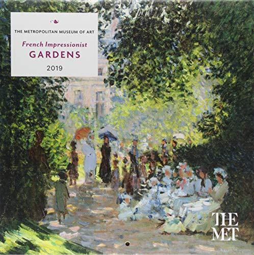 French Impressionist Gardens 2019 Mini Wall Calendar