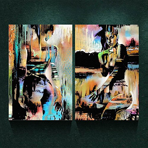 Abstract Nude Canvas - 8