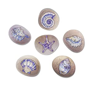 Morcart Starfish Fridge Magnets Cute Funny Refrigerator Magnets for Kids Adults Lockers Office Whiteboard Best Gift Choice 6pcs