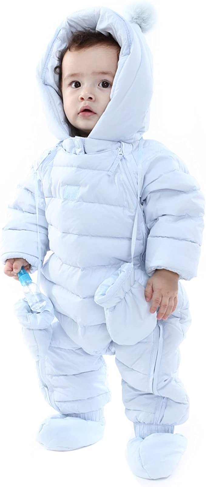 9-12 Months 6-9 Baby blue Cuddle faux Fur Hooded Zip Coat Baby blue 3-6