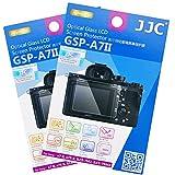 2 Pack JJC 0.01'' Ultra-thin Clear Tempered Glass Camera Screen Protector for Sony a9 a7III a7II a7RIII a7RII a7SII / ILCE-A9 ILCE-A7M3 A7M2 A7RM3 A7RM2 A7SM2 Digital Mirrorless Camera Anti-scratch