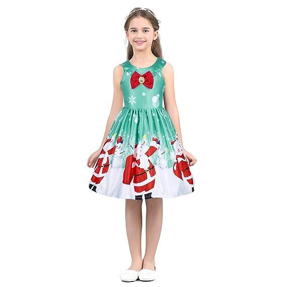Agoky Vestido Flores De Princesa Fiesta Para Niñas Sin
