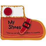 Melissa & Doug K'S Kids My Shoes 8-Page Soft Activity Book for Babies & Toddlers