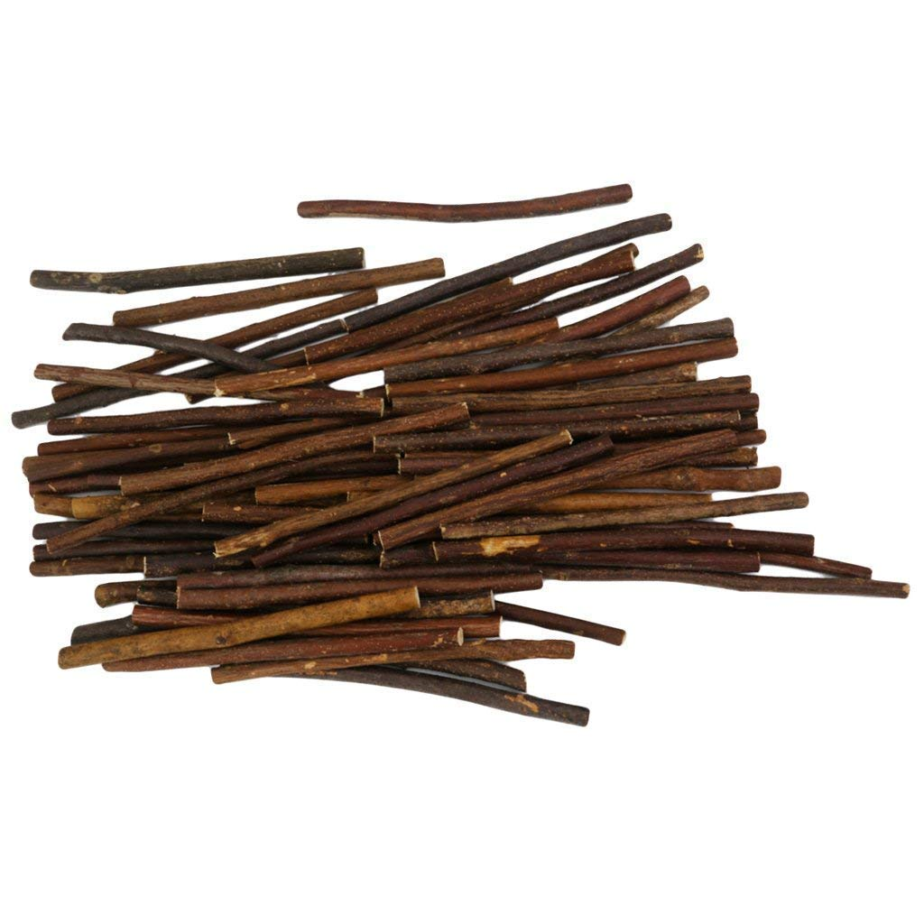 200pcs 5 Inch Long 0.1-0.2 Inch in Diameter Wood Log Sticks Twigs for Crafts Photo Props by HANBEN