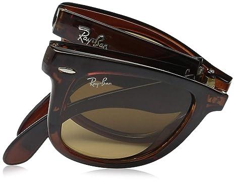 970f0f0075 Amazon.com  Ray-Ban RB4105 Folding Wayfarer Sunglasses  Clothing