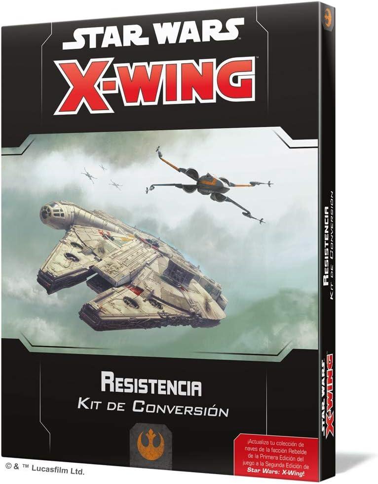 Fantasy Flight Games- Star Wars: X-Wing 2.0 Resistencia - Kit de Conversión - Español, Color: Amazon.es: Juguetes y juegos