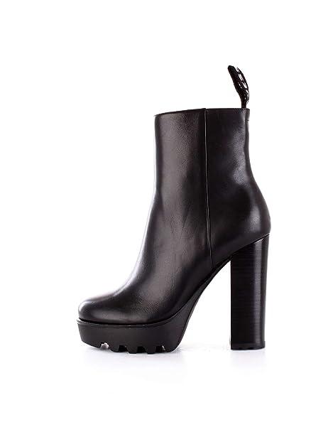 Women Guess Bags 40 Shoes co Flnch4lea10 amp; uk Boot Black Amazon Ankle TT1tqg
