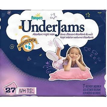 Pampers - Girls UnderJams Absorbent Night Wear, S