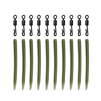 20 pcs 54mm Anti Sleeves Carp Fishing Tackle Accessories Easy to Use