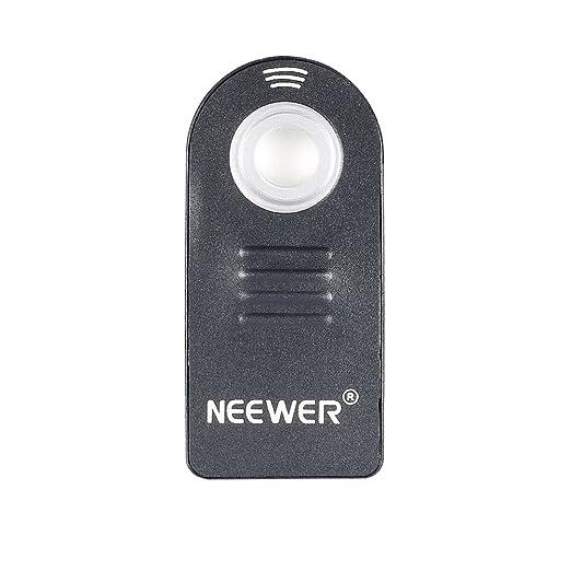 Neewer - Control de mando a distancia por infrarrojos inalámbrico disparador remoto ML-L3 para Nikon D40, D40 x, D50, D60, D70, D70s, D80, D90, D5200, ...
