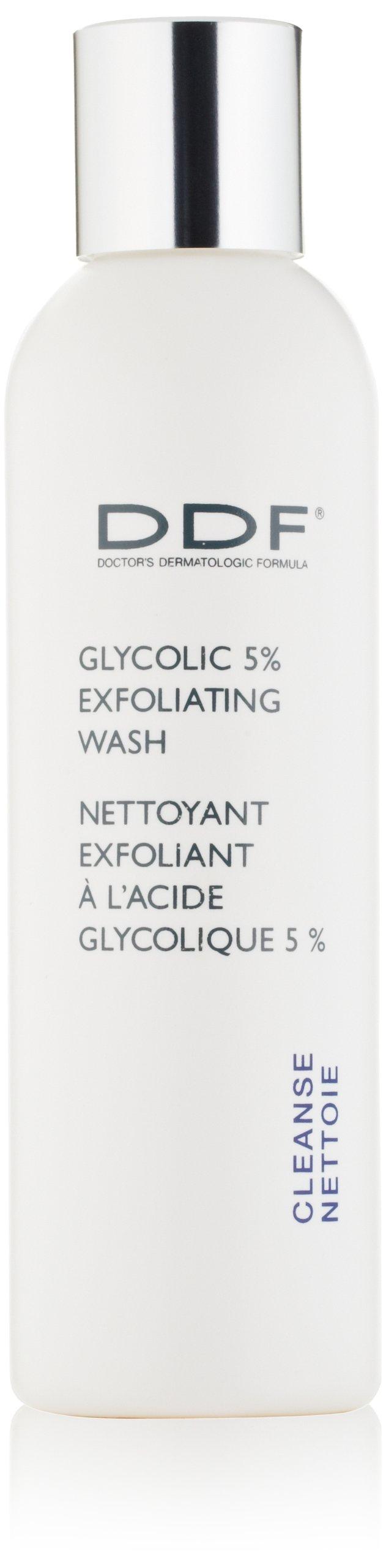 DDF Glycolic 5% Exfoliating Wash, 6 fl. oz.