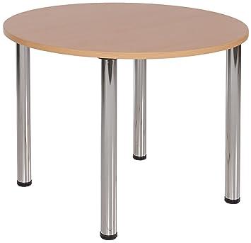 Metroplan Large Round Meeting Room Table Amazoncouk Office Products - Large round meeting table