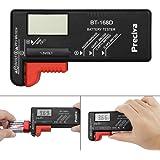 Tester batteria,Preciva Tester batteria digitale precisamente per batterie 18650,batteria al litio,batteria bottone,etc