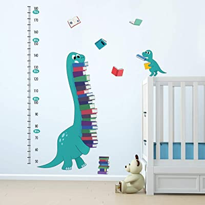 ufengke Dinosaurs Height Charts Wall Stickers Books Growth Wall Decals Art Decor for Kids Bedroom Baby Nursery: Home & Kitchen