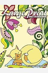 Large Print Adult Coloring Book (Premium Adult Coloring Books) (Volume 3) Paperback