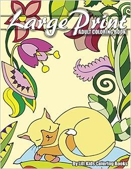 Amazon.com: Large Print Adult Coloring Book (Premium Adult