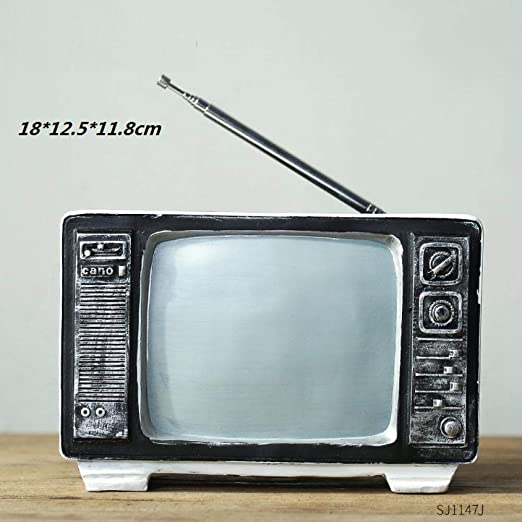 hacpigbb TV Modelo De Radio Creativo Retro Estatua Artesanía ...