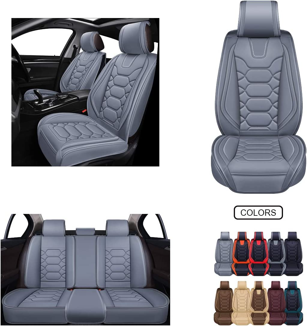 OASIS AUTO OS-007 Leather Car Seat Covers