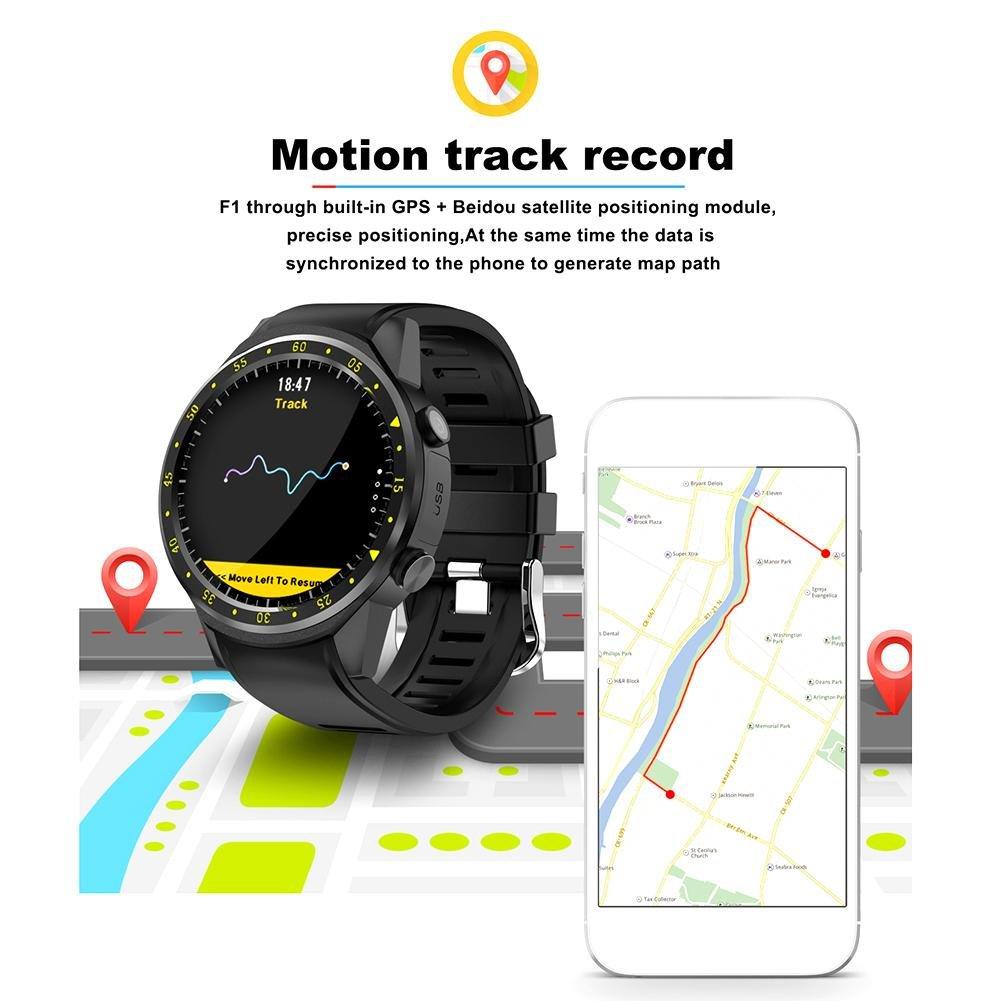 Reloj Inteligente Digital, F1 4.0 GPS Deportivo Bluetooth de ...