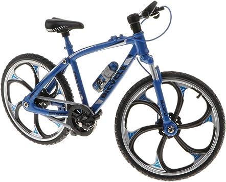 P Prettyia 1:10 Juguete de Bicicleta de Carrera/Montaña/Ciudad ...