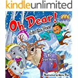 """Children's picture books:""""OH DEAR SAID THE DEER"""":Bedtime story(Beginner readers)values(Funny)Rhymes(Animal story:Mammal)Early learning(Preschool kid-level ... & Education)series (BOOKS FOR KIDS)"""