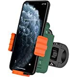 SanLead Bike Phone Mount with Charging Compartment 360° Rotation Bike Phone Holder for Bicycle Motorcycle E-Bike Cycling…