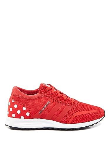 5ab531a91d013f adidas Sneaker Damen Schuhe AF4306 LOS Angeles W Sneaker ROT  Amazon ...