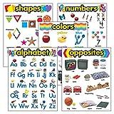 Best Kindergarten Supplies - Trend Kindergarten Basic Skill Combo Pack; 5 Charts Review