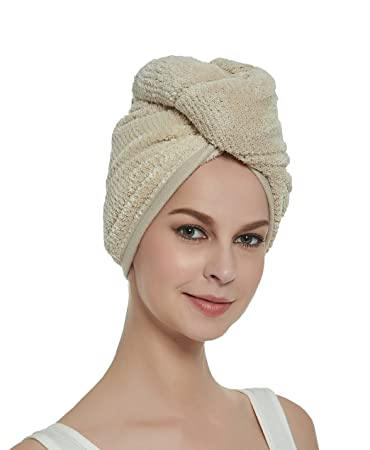 HOPESHINE Mikrofaser Haar-Turban