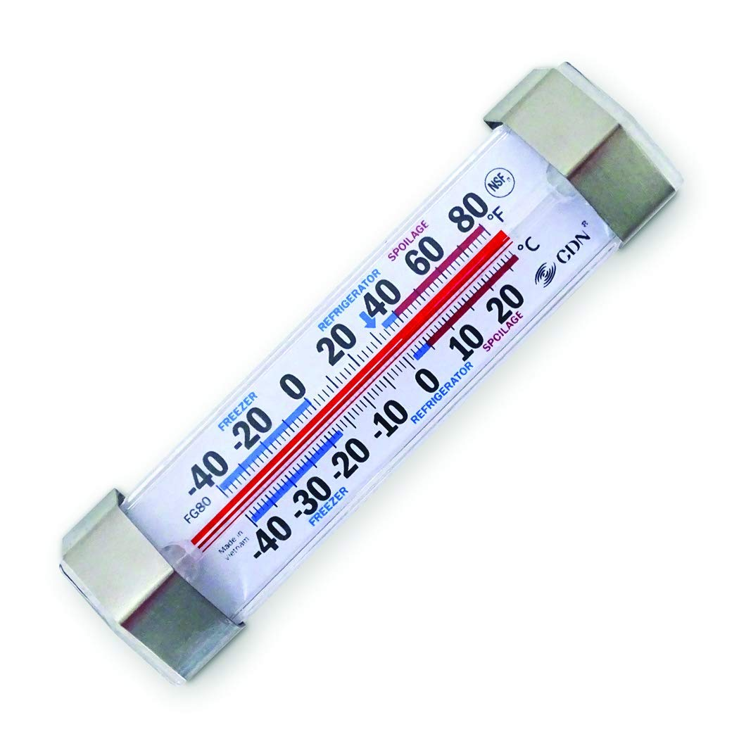 CDN FG80 Refrigerator/Freezer NSF Professional Thermometer